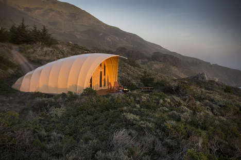 Longterm Cocoon Tents - The Autonomous Tent Cocoon Offers a Liveable Mobile Space for the Wilderness