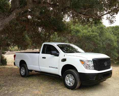 Heavy-Duty Pickup Trucks - The New Nissan Titan Offers Powerfully Robust Driving Enjoyment
