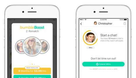 Paid Dating App Extensions - Bumble Dating Will Be Made Easier with a Subscription Service and More