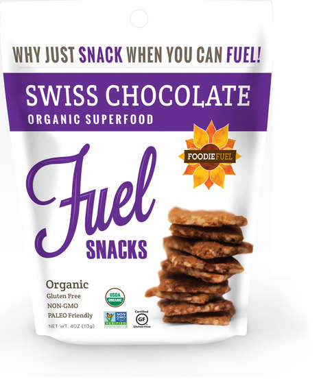 Sweet Superfood Crackers - The Foodie Fuel Snacks Serve as an Alternative to Sugary Cookies