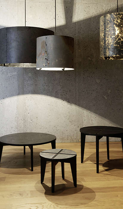Paper-Thin Stone Lampshades - The 'Rock Collection' Features Lampshades Made from Natural Shale