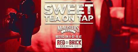 Boozy Sweet Teas - This Brewery Recently Put an Alcoholic Twist on McAlister's Famous Sweet Tea