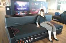 Mattress-Advertising Airport Lounges