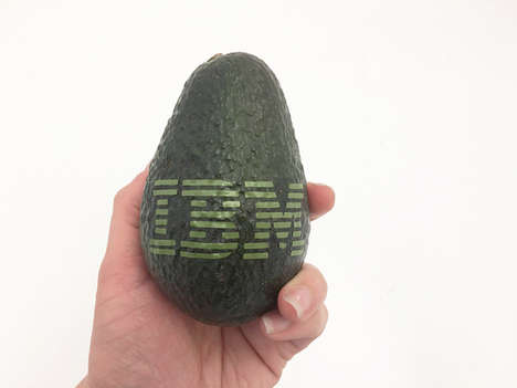 Custom-Branded Avocados - 'Custom Avocados' Lets Consumers Print Personalized Logos on the Fruit
