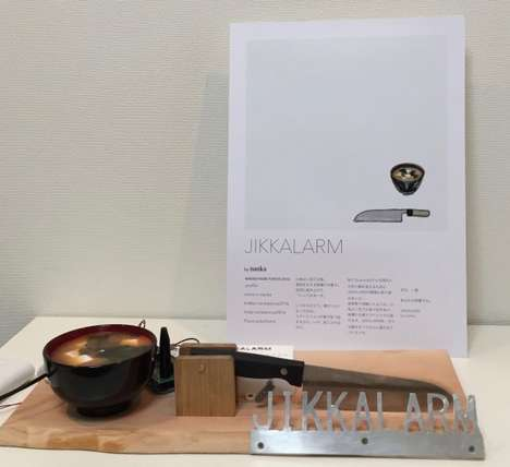 Kitchen Noise Alarm Clocks - The 'Jikkalarm' Offers a Wake Up with Alarm Clock Sounds of Cooking