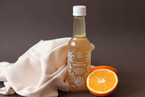 Small-Batch Kombucha Teas - These Small-Batch Teas are Perfect for Brand Promotion Purposes