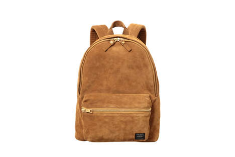 Luxe Suede Accessories - 5525gallery and Porter Collaborated for a Line of Premium Bags and More
