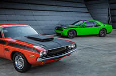 Modernized 70s Muscle Cars