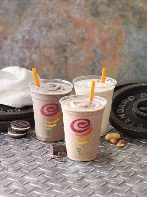 Protein-Rich Smoothies - The New Jamba Protein Smoothies are Meant to Supplement Exercise