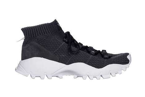 Modular Hybrid Sneakers - This Sleek adidas Boot is Combined with the Flexibility of a Sneaker