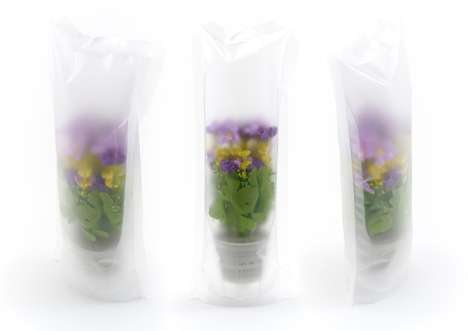 Puzzle Planter Packaging - The Green Dream Planting Set Lets Consumers Build Their Own Glass Gardens