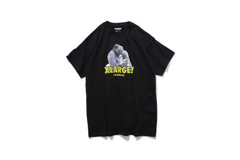 Distinguished Primate T-Shirts - XLARGE Paid Tribute to Japan's Notoriously Handsome Gorilla