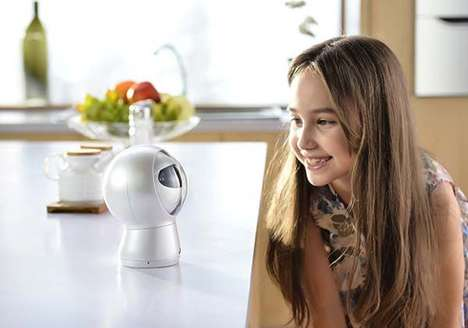 Assistive Household Robots - 'Moorebot' is a Personal Robot with a Camera and Voice Recognition