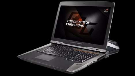 Liquid-Cooled Gaming Laptops - The GX800 Laptop is Designed For Competitive and Professional Gamers