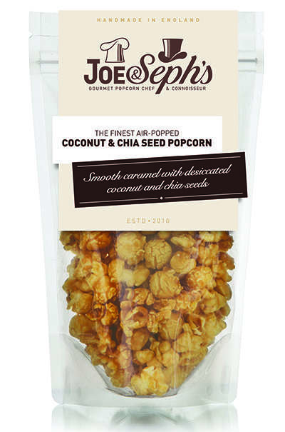 Sweet Superfood Popcorn - This Healthy Popcorn Flavor from Joe & Seph's is Powered by Chia Seeds