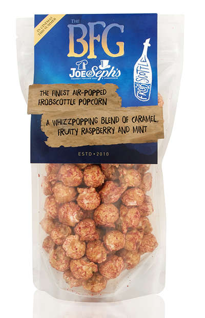 Literary Popcorn Snacks - This Joe & Seph's Popcorn Takes After 'Frobscottle' from The BFG