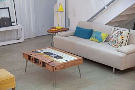 Retro Cassette Tables - The TAYBLES Are a Large-Scale Recreation of a Compact Cassette