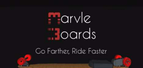 Efficient Electric Skateboards - Marvle Boards' Skateboard Offers 25 Miles Per Single Charge