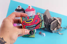 Graffiti-Inspired Mint Packaging - This Packaging Concept Features Colorful Graffiti Art