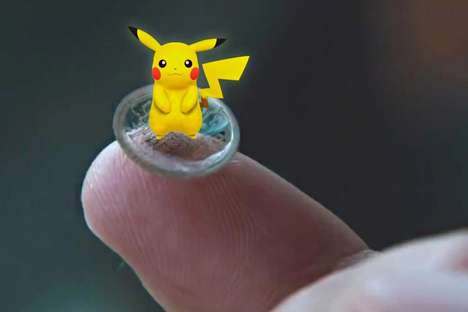 Anime-Infused Contact Lenses - These Smart Custom Contact Lenses Could Help Pokémon Go Players