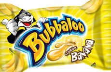 Resurging Nostalgic Gums - This Banana-Flavored Gum Will be Re-Released in Brazil