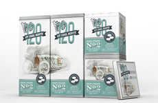 Retro Racecar Mint Packaging - 'GT Cool Mints' Come in Tins with Old-Fashioned Car Designs