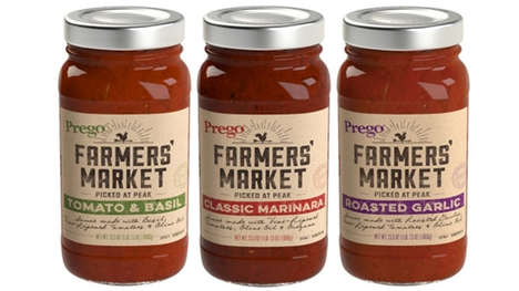 Farmers' Market-Inspired Sauces - Prego's New Farmers' Market Sauces are Inspired by Local Flavors