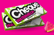 Chromatic Chewing Gum Packaging