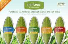Leafy Mint Branding - Minteas' Packaging is Inspired by Its Organically Flavored Contents