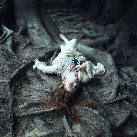 Ethereal Woodland Portraits - These Portraits Reveal Beautiful Images That are Borderline Surreal