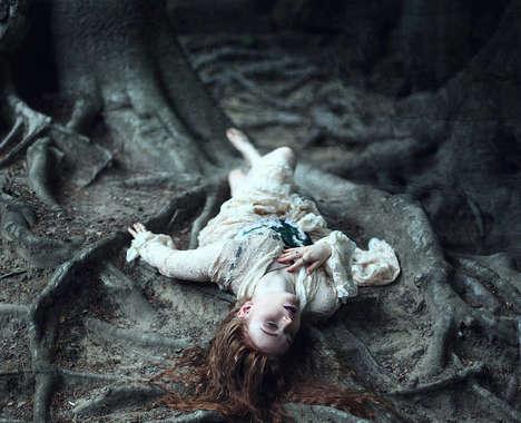 Ethereal Woodland Portraits