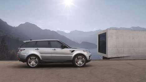 Semi-Autonomous SUVs - The New Range Rover SUV Offers Blind Spot Assist and Lane-Monitoring