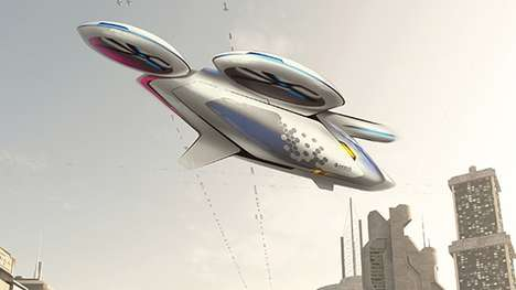 Flying Taxi Concepts - The CityAirbus Project Imagines a Future of Flying Public Transportation