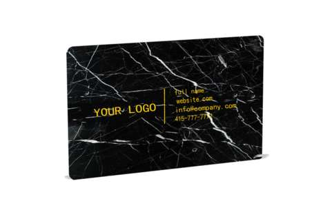 Sophisticated Marble Business Cards - These Cards are Perfect for People with Luxurious Taste