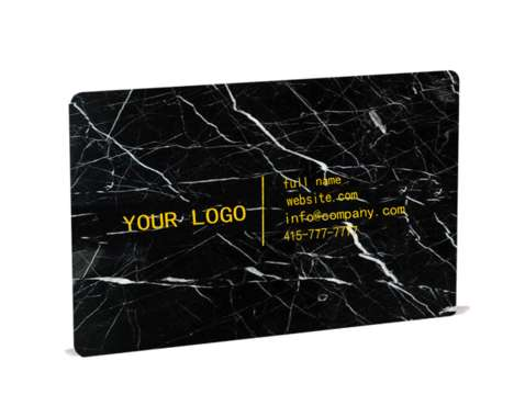 Sophisticated Marble Business Cards