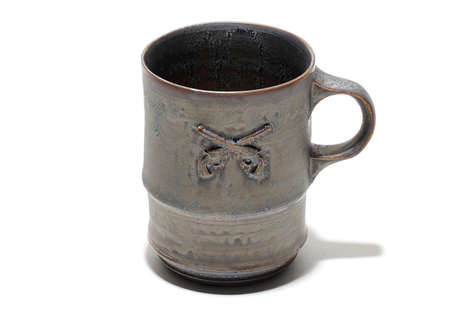 Luxe Rustic Coffee Mugs - Saburo Hamanaka and Shiro Hamanka's Rare Products Feature Symbolic Pistols