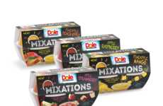 Chunky Fruit Cup Snacks - The New DOLE Mixations Combine Fruit Sauces with Pieces of Real Fruit