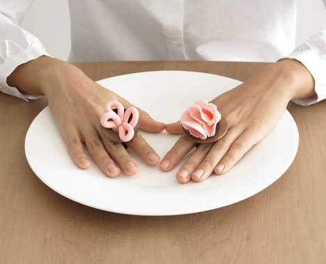 Sophisticated Dish-Shaped Rings