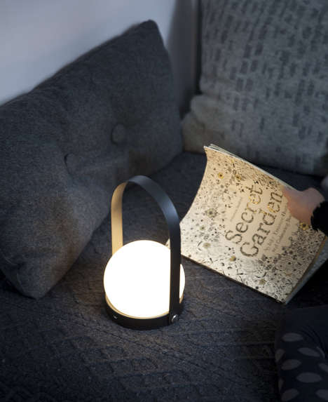 Globular Danish LEDs - The 'LED Carrie' is Informed by the Danish Concept of 'Hygge'
