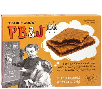 Sandwich-Inspired Snack Bars - Trader Joe's PB & J Bars Put a Snack-Sized Spin on a Classic Sandwich