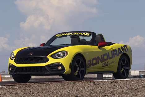 Racing Lesson Promotions - Fiat Abarth Purchasers get a One-Day Session from the Bondurant School