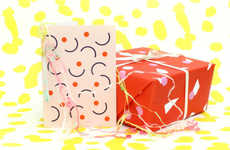Abstract Artisan Gift Wrap