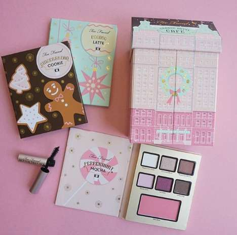 Holiday Cosmetics Collections - Too Faced's The Grande Hotel Cafe Set is Bursting with Holiday Cheer
