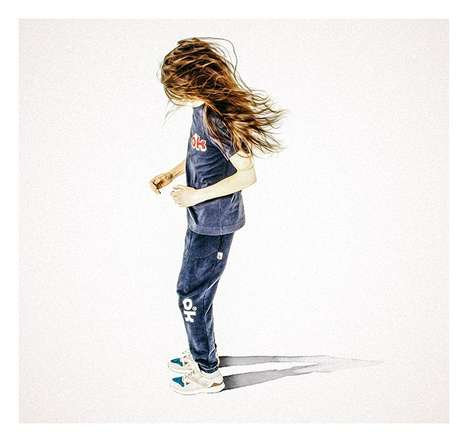 Illustrated Sportswear Editorials - Reebok's Collaborative Series Tributes Athletic 1970s Fashion