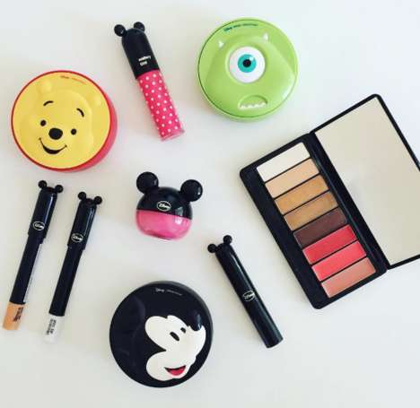 Disney-Themed Cosmetics Collections - The Face Shop's New Line is Inspired by Disney Characters
