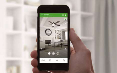 Smart Ceiling Fans - 'The Signal' is a Wi-Fi Ceiling Fan That Syncs with an App