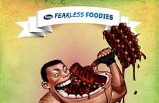 Fearless Foodie Ads