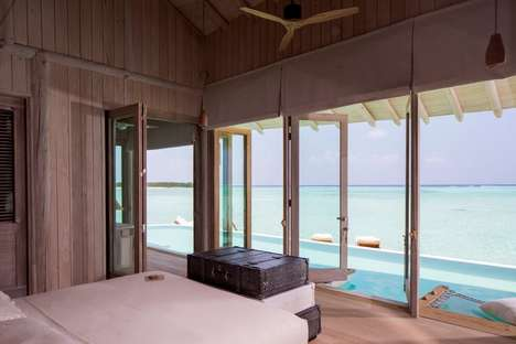 Open-Air Luxury Villas - This Maldives Resort Offers Villas With Retractable Roofs
