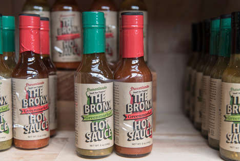 Serrano-Spiced Hot Sauces - The Bronx Hot Sauce Brand Relies On Locally Grown Serrano Peppers