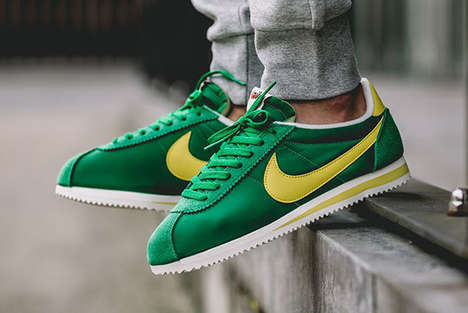 Olympics-Celebrating Sneakers - These Stylish Sneakers Feature the Colors Of the Brazilian Flag